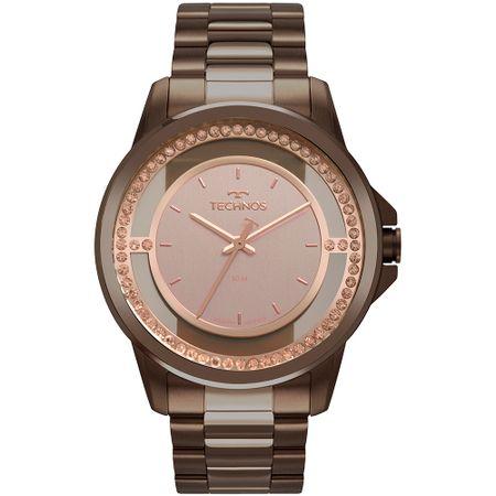 Relógio Technos Feminino Trend Marrom 2039CJ/4J