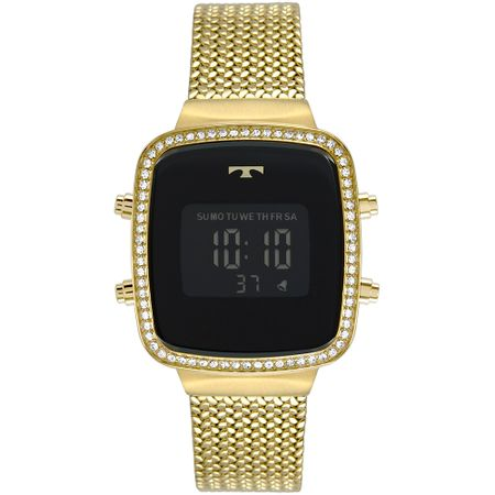 Relógio Technos Feminino Trend Dourado BJ3478AA/4P