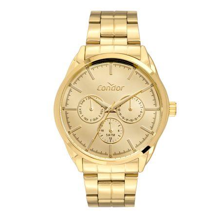 Relógio Condor Feminino Top Fashion Dourado CO6P29JK/4D