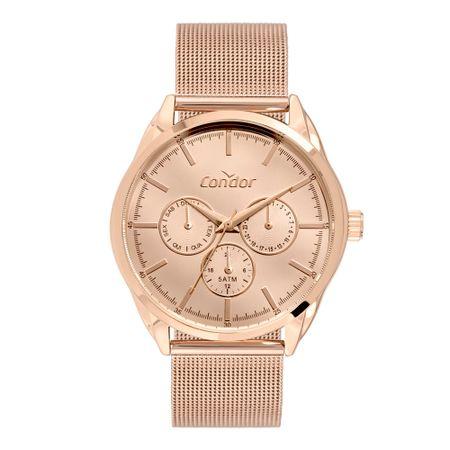 Relógio Condor Feminino Top Fashion Rosé CO6P29JM/4J