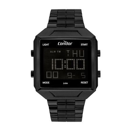 Relógio Condor Masculino Digital Preto COBJ2649AD/4P