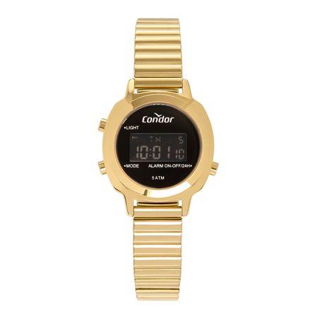 Relógio Condor Feminino Mini Dourado COJH512AH/4P