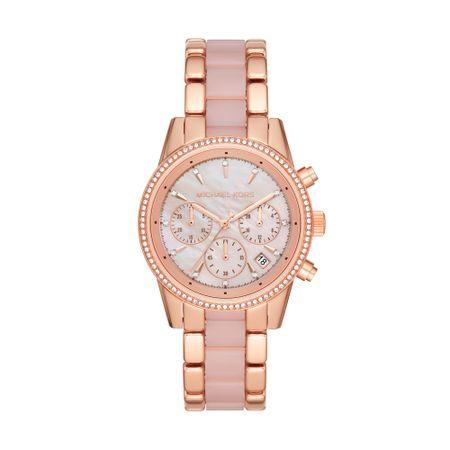 Relógio Michael KorsFeminino Ritz Rosa MK6769/1TN