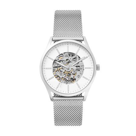 Relógio Skagen Masculino Holst Automatic Prata SKW6581/1KN