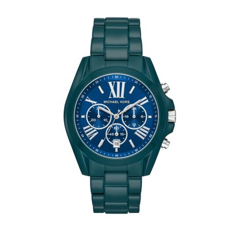 Relógio Michael Kors Feminino Bradshaw Azul MK6723/1VN