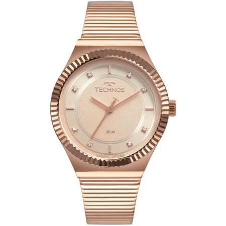 Relógio Technos Feminino Style Rosé 2035MRV/4T