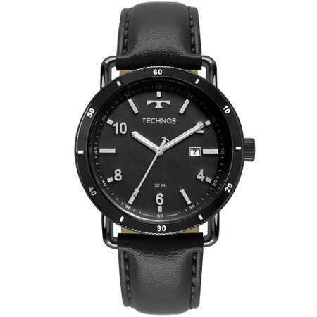 Relógio Technos Masculino Militar Preto 2115MUS/2P