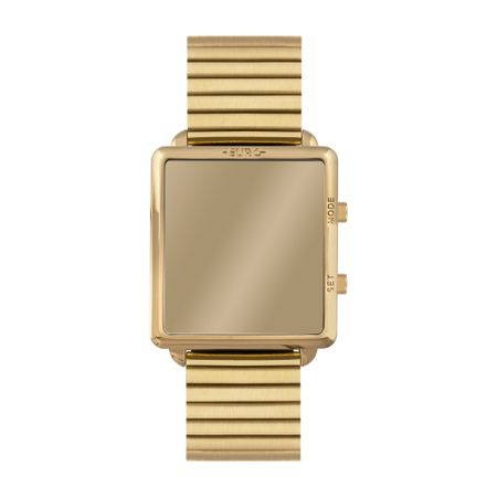 Relógio Euro Feminino Fashion Fit Reflexos Dourado EUJHS31BAG/4D