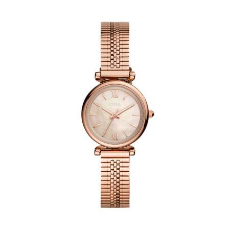 Relógio Fossil Feminino Carlie Mini Rosé ES4697/1JN