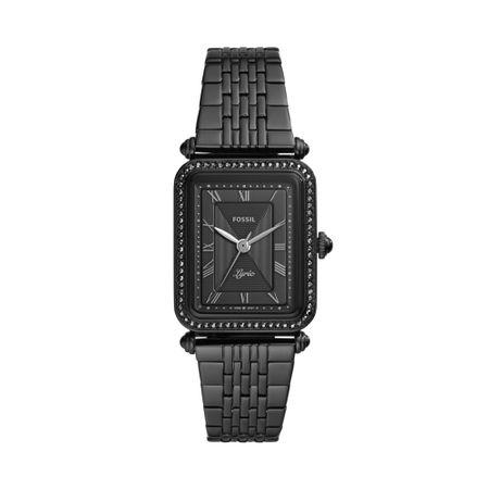 Relógio Fossil Feminino Lyric Preto ES4722/1PN