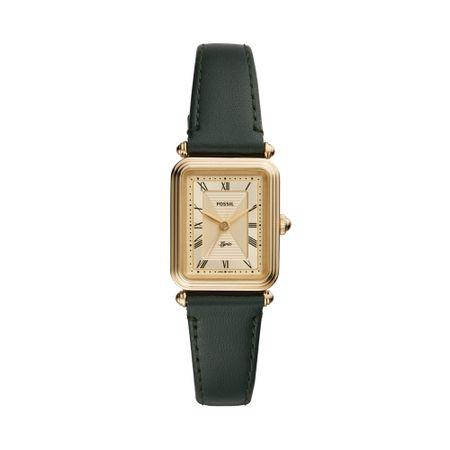 Relógio Fossil Feminino Lyric Dourado ES4717/0VN
