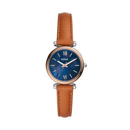 Relógio Fossil Feminino Carlie Mini Rosé ES4701/0LN