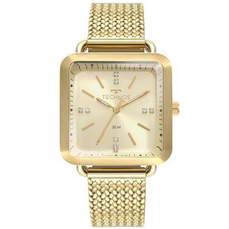 Relógio Technos Feminino Style Dourado 2036MME/4X