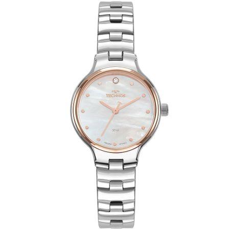 Relógio Technos Feminino Boutique Prata 2036MLV/1B