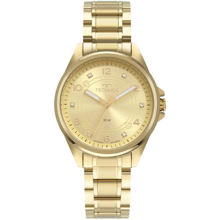 Relógio Technos Feminino Boutique Dourado 2035MRN/4X