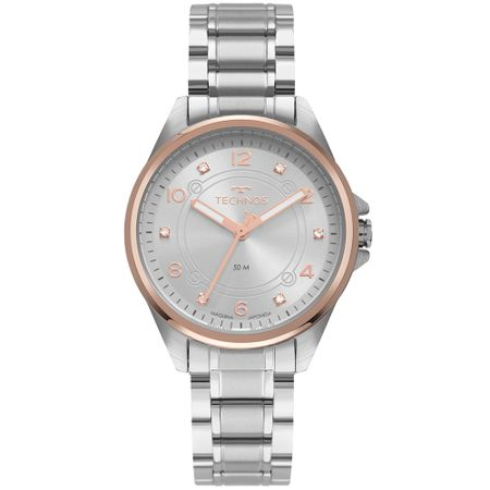 Relógio Technos Feminino Boutique Prata 2035MRP/1K