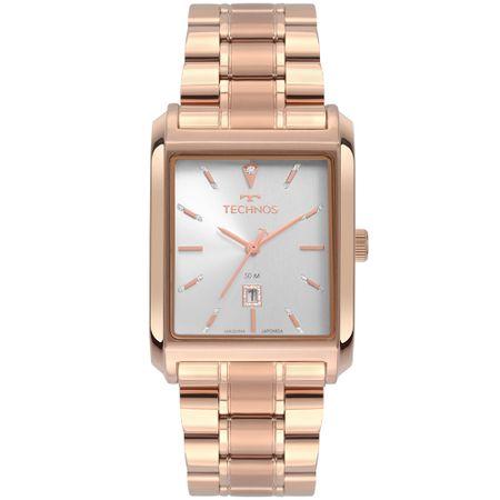 Relógio Technos Feminino Dress Rosé 2015CDY/4K