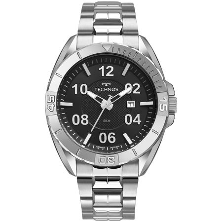 Relógio Technos Masculino Racer Prata 2117LCB/1P