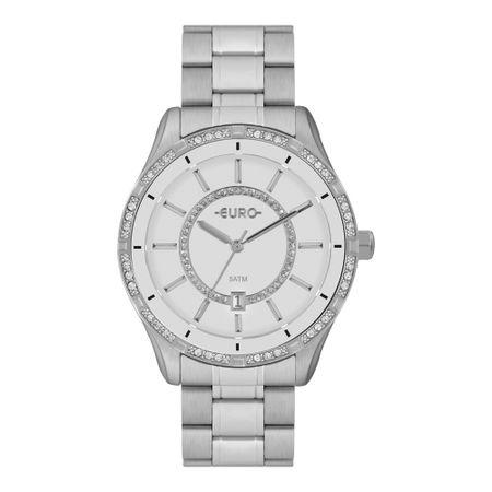Relógio Euro Feminino Iconic Glow Prata EU21176HAB/3B