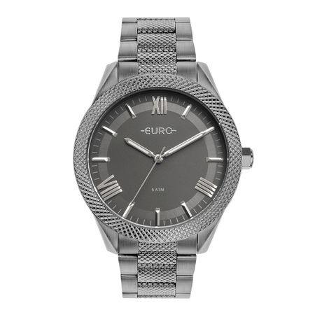 Relógio Euro Feminino Boyfriend Cinza EU2035YSB/4F