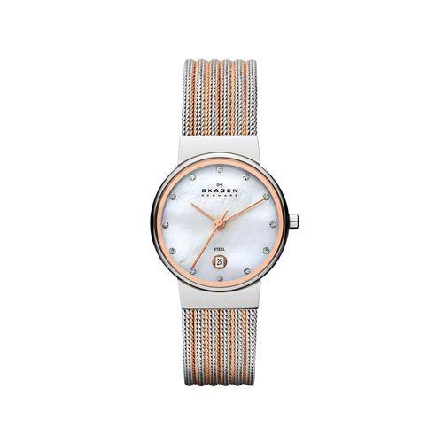 Relógio Skagen Feminino Ancher Prata - 355SSRS/Z