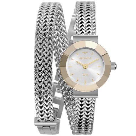 Relógio Technos Feminino Mini Prata 5Y20IU/1K