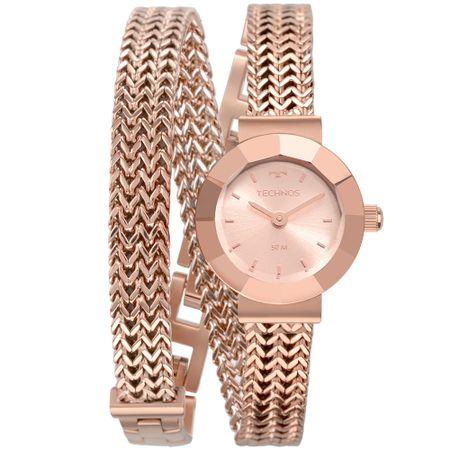 Relógio Technos Feminino Mini Rosé 5Y20IR/4J