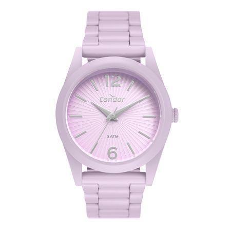 Relógio Condor Feminino Color Fun Roxo CO2035MUT/8G