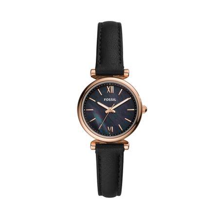 Relógio Fossil Feminino Carlie Mini Rosé ES4700/0PN