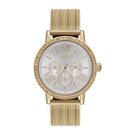 Relógio Euro Feminino Multiglow Party Dourado - EU6P29AHL/4B
