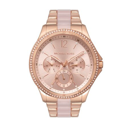 Relógio Michael Kors Feminino Riley Rosé MK6657/1JN