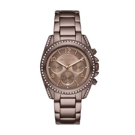 Relógio Michael Kors Feminino Ritz Marrom MK6764/1JN
