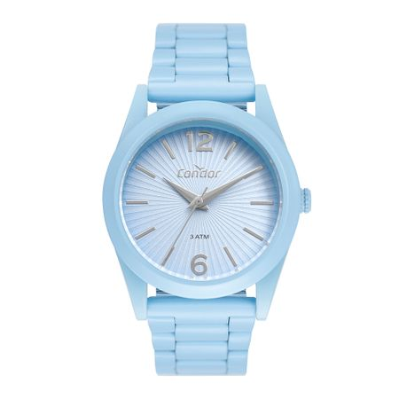 Relógio Condor Feminino Color Fun Azul CO2035MUS/8A