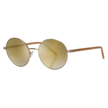 Óculos Euro Feminino Vintage Glam Dourado E0055E1008/4D