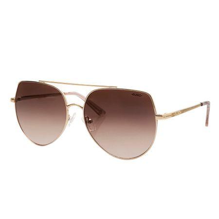 Óculos Euro Feminino Aviador Hits Rosé E0065E1024/4M