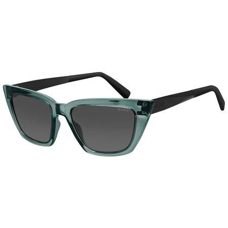 Óculos Euro Feminino Classic Cat Preto E0068KA601/8P