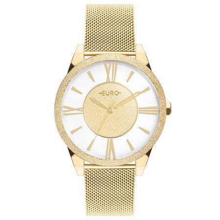 Relógio Euro Ouse Ser Voce Mesma Feminino Dourado EU2036YQF/4D