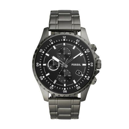 Relógio Fossil Dillinger Masculino Cinza FS5673/1CN