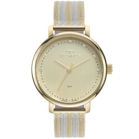 Relógio Technos Style Feminino Bicolor 2035MSW/1X