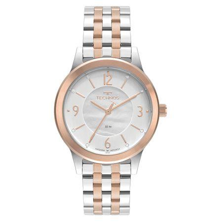 Relógio Technos Boutique Feminino Bicolor 2036MNB/1B