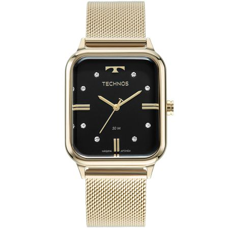 Relógio Technos Style Feminino Dourado 2039CQ/1P