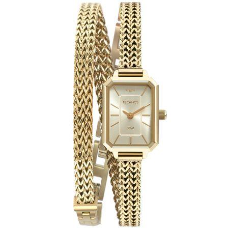 Relógio Technos Mini Feminino Dourado 5Y20IV/1X