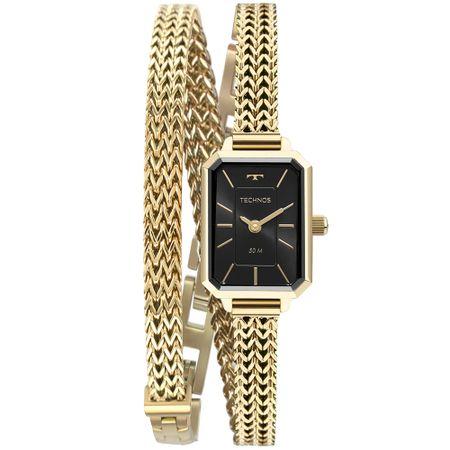 Relógio Technos Mini Feminino Dourado 5Y20IX/1P