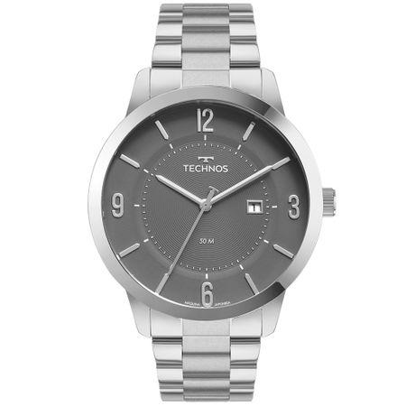 Relógio Technos Steel Masculino Prata 2117LCP/1C