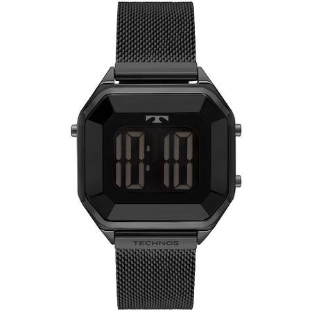 Relógio Technos Digital Feminino Preto BJ3851AO/1P