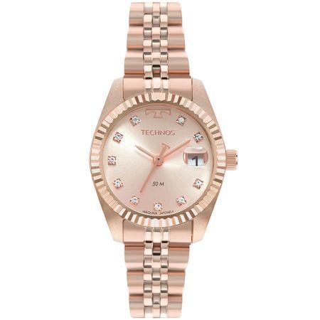 Relógio Technos Riviera Feminino Rosé GL10IH/1T