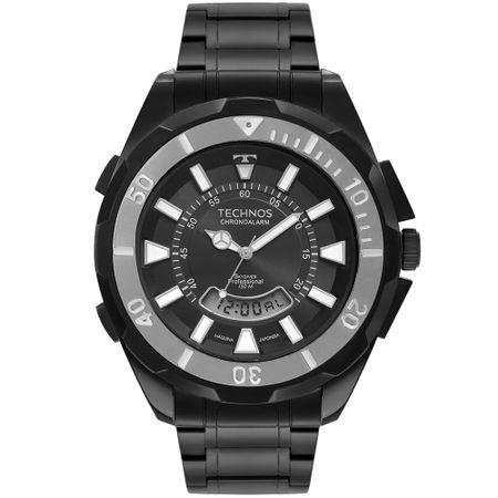 Relógio Technos Skydiver Masculino Preto T205JN/4P