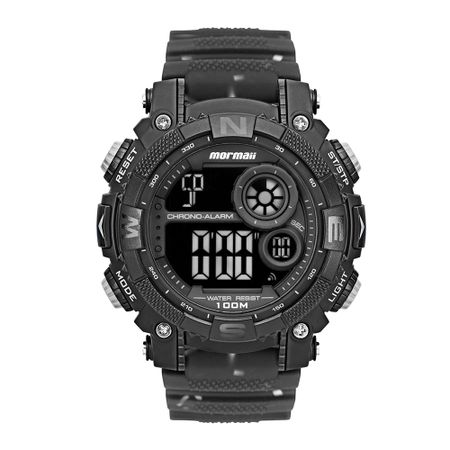 Relógio Mormaii Action Masculino Preto MO12579F/8P