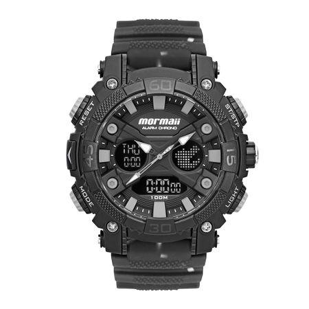 Relógio Mormaii Action Masculino Preto MO12598AA/8P