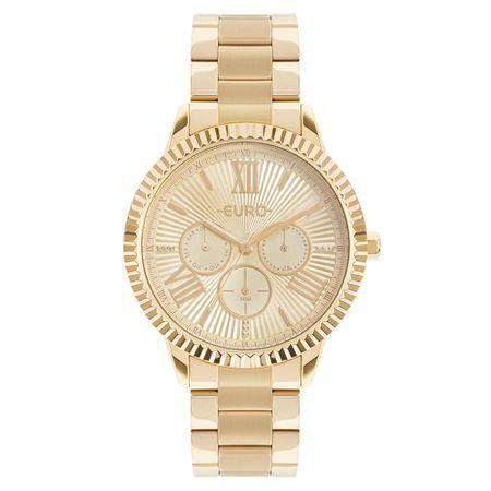 Relógio Euro Multiglow Feminino Dourado EU6P29AHO/4D